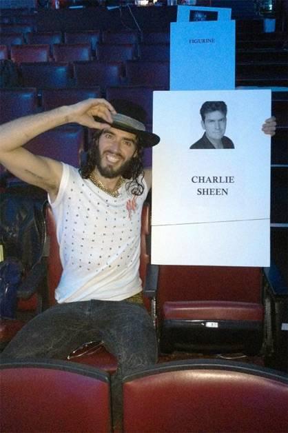 Russell Brand: MTV Awards tomorrow. Got my seat sorted. Winning/wanking.