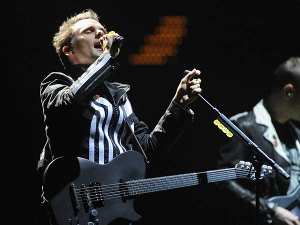 Muse Perform @ The '2012 MTV EMA' in Frankfurt!