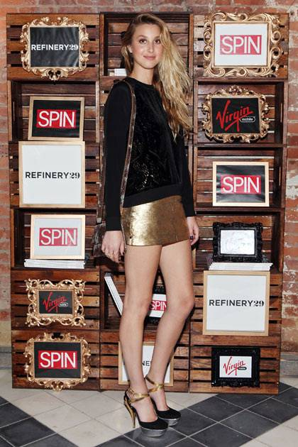Whitney Port attends the Spin And Refinery 29 Present Azealia Banks And Hunters at Wythe Hotel on September 5, 2012 in New York City.