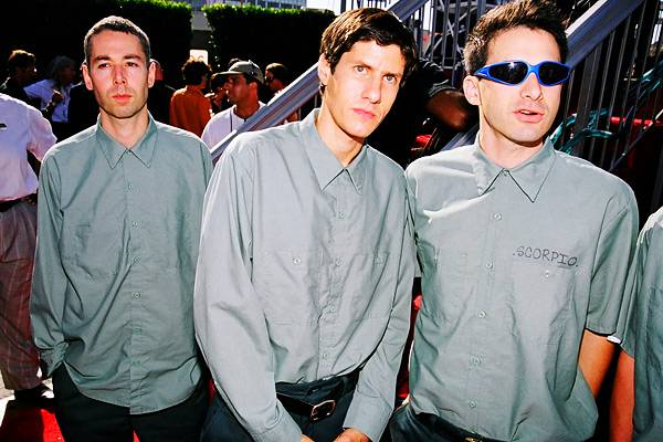 MCA and the Beastie Boys at the 1998 MTV Video Music Awards