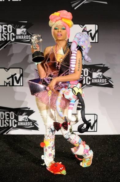Nicki Minaj at the 2011 MTV VMA.