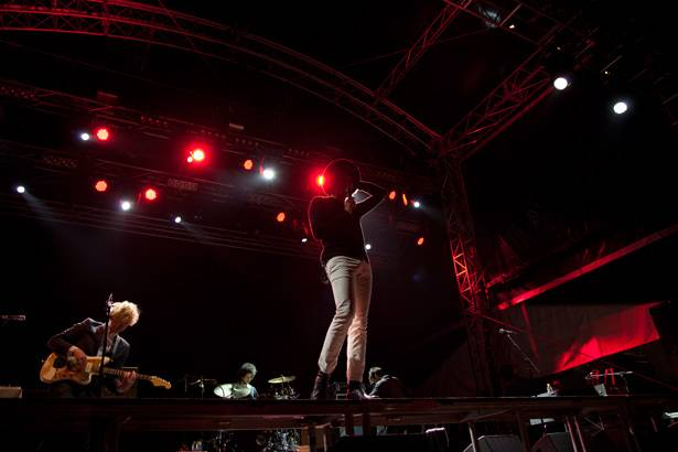 The Kooks at 'Groovin The Moo' in Canberra April 28, 2013.