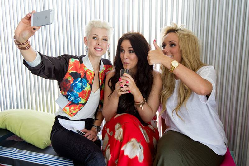 Geordie Shore: Season 6 - Kate, Vicky and Charlotte in Bondi on Tuesday March 5, 2013.