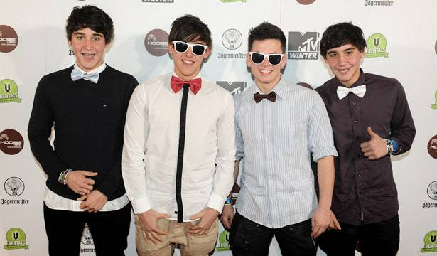 The Janoskians at MTV Winter at the Plaza Ballroom in Melbourne, 19 July 2012.