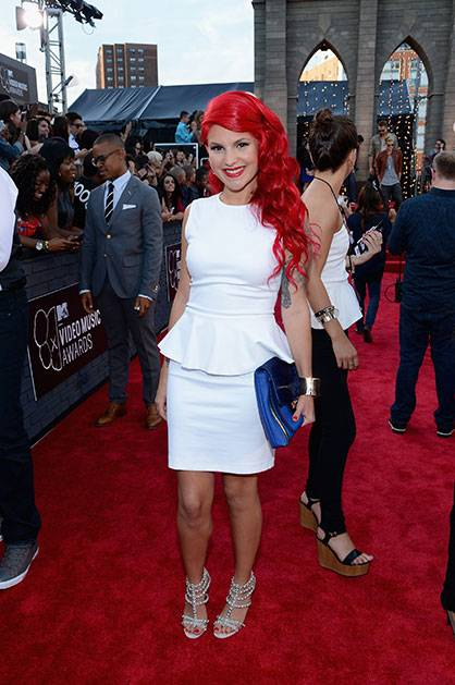 Carly Aquilino on the Red Carpet @ the 2013 MTV Video Music Awards in Brooklyn!