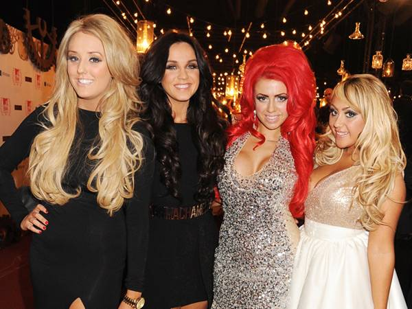 The Geordie Shore Girls @ the '2012 MTV EMA' Red Carpet