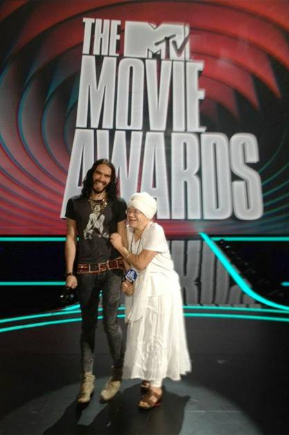 Russell Brand: My highlight of the MTV Movie awards.