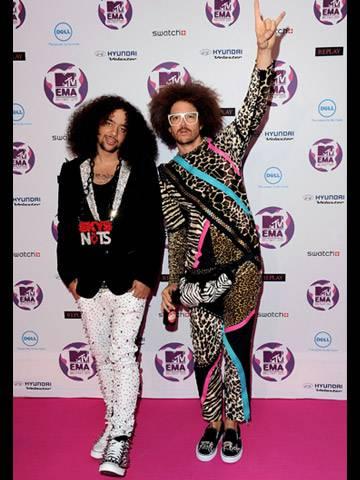 LMFAO at 2011 MTV EMA!