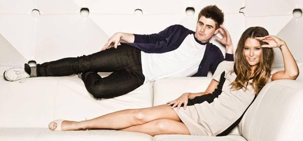 Matty Acton and Erin McNaught.