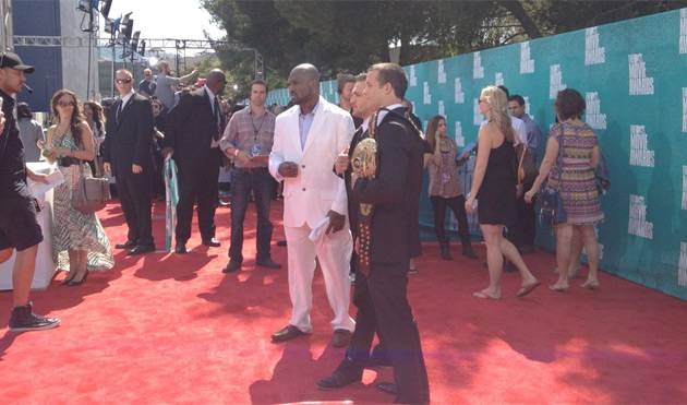 MTV Press: And the carpet is open!!! #MovieAwards.