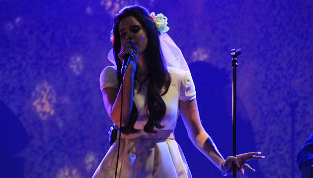 Lana Del Rey performing live at 'Splendour in the Grass 2012' at Belongil Fields, Byron Bay - 28 July, 2012.