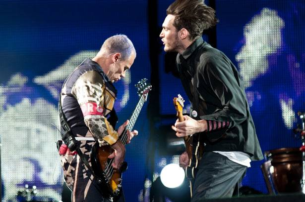 Flea and Josh Klinghoffer - Red Hot Chili Peppers