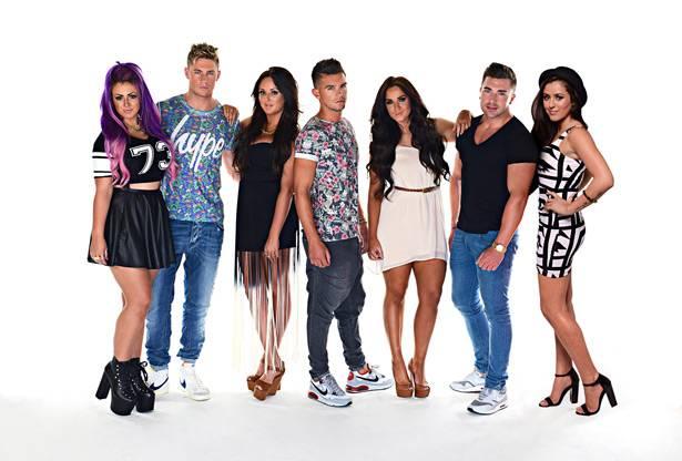Holly, Scotty-T, Charlotte, Gary, Vicky, James, Marnie.