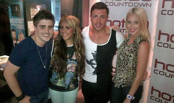 #GEORDIESONTOUR with the Hot30 crew