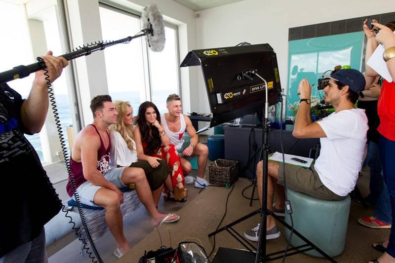 Geordie Shore: Season 6 - Behind the scenes in Bondi on Tuesday March 5, 2013.
