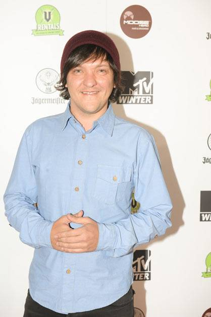 Chris Lilley at MTV Winter at the Plaza Ballroom in Melbourne, 19 July 2012.