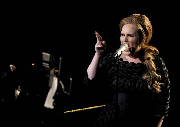 Adele Performs her hit 'Someone Like You'...