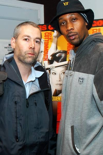 "MCA with RZA at RZA's ""Kill Bill"" screening in New York in 2003"
