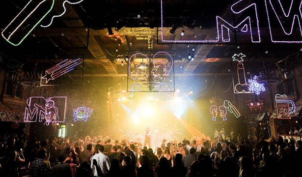 MTV Winter Crowd at the Plaza Ballroom in Melbourne, 19 July 2012.