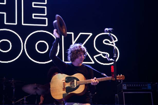 Luke Pritchard of The Kooks at 'Groovin The Moo' in Canberra April 28, 2013.