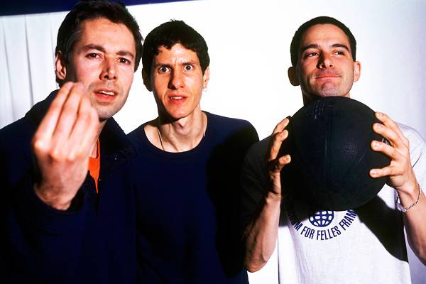 MCA and the Beastie Boys in 1999