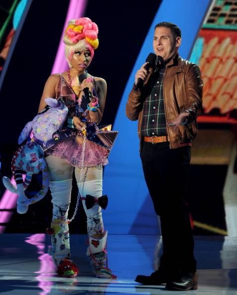 The dazzeling Nicki Minaj and hilarious Seth Rogan