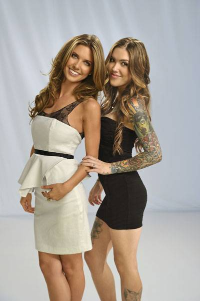 Audrina and Casey.