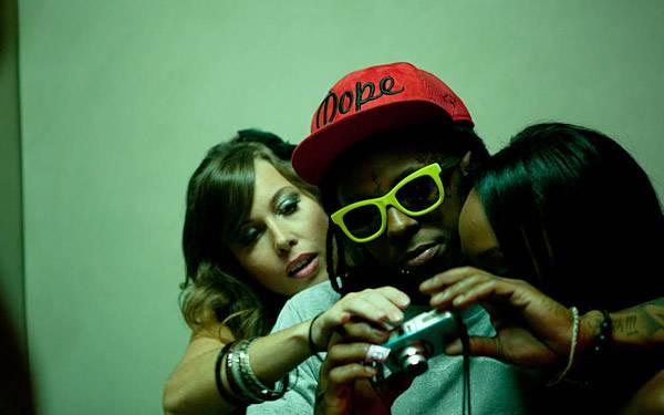 Lil Wayne at the 2011 VMA promo shoot.