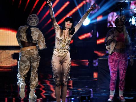 Jessie J performs live at the 2011 MTV EMA!