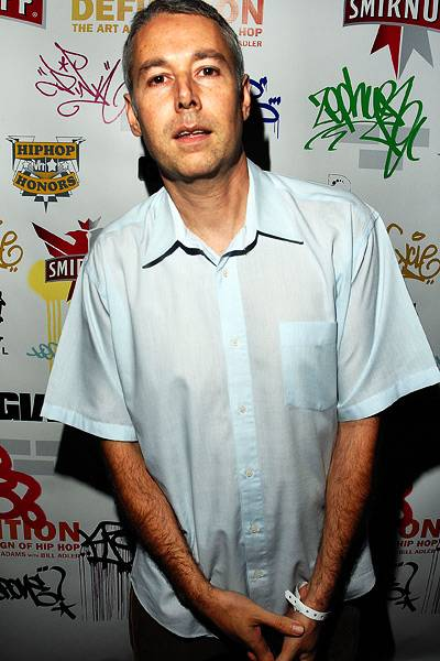 """MCA at the """"DEFinition: The Art and Design of Hip Hop"""" launch in New York in 2008"""
