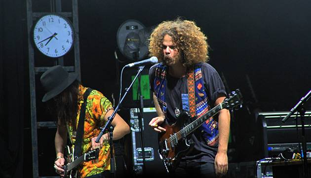 Wolfmother performing live at 'Splendour in the Grass 2012' at Belongil Fields, Byron Bay - 29 July, 2012.