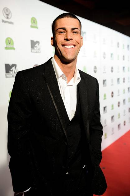 Geordie Shore's Jay at MTV Winter at the Plaza Ballroom in Melbourne, 19 July 2012.