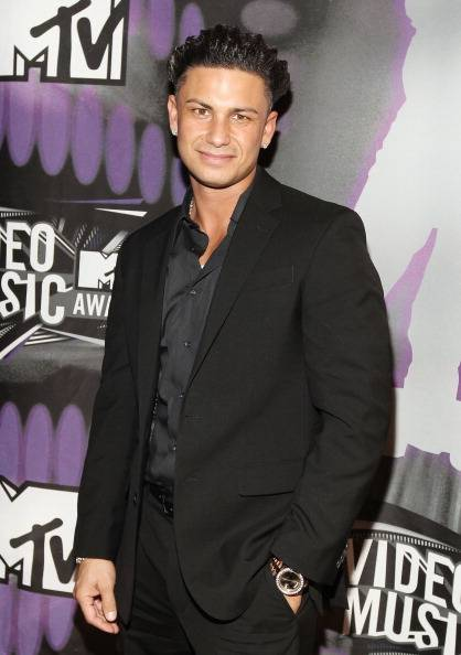Jersey Shore's Pauly D at the 2011 MTV Video Music Awards.