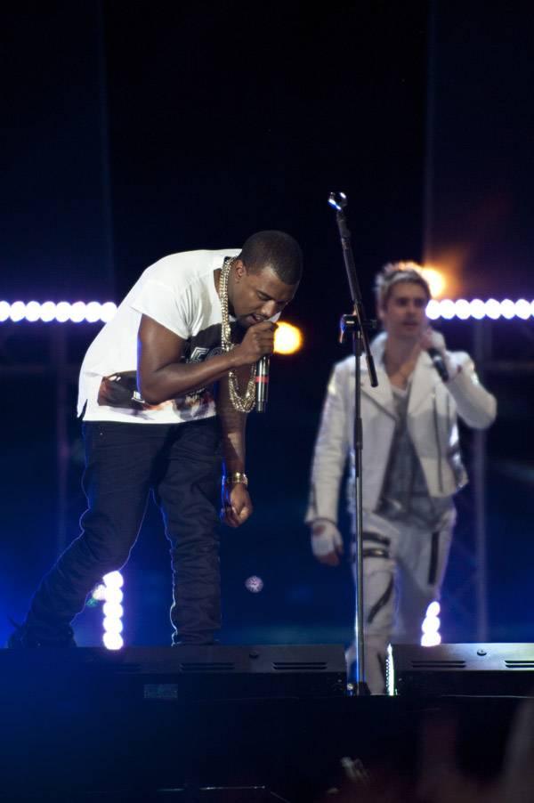 Kanye West and Jared Leto.