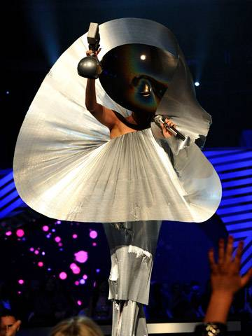 Lady Gaga wins the 'Best Female' award!