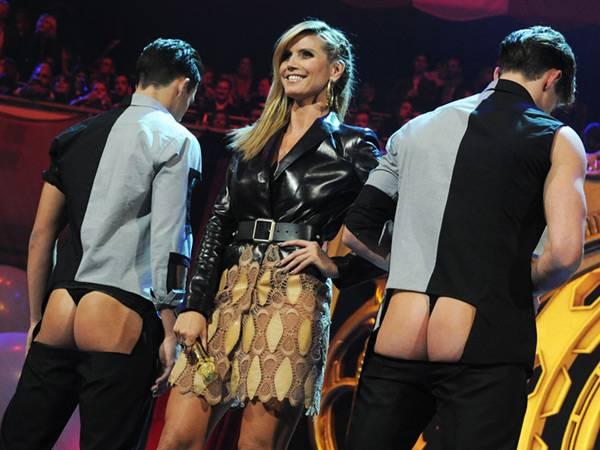 Host Heidi Klum @ The '2012 MTV EMA' in Frankfurt!