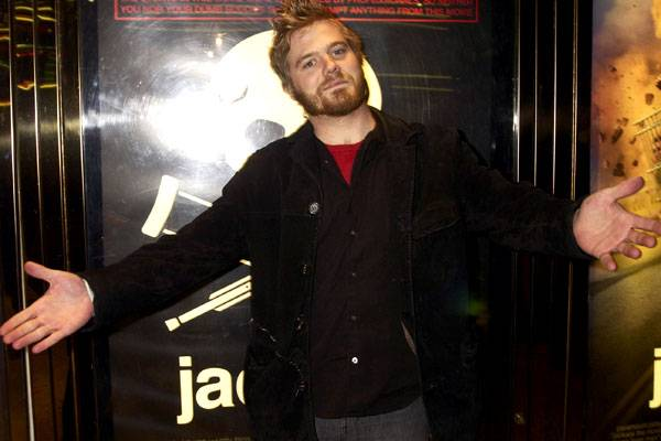 Dunn at the UK premiere of 'Jackass: The Movie' on February 25, 2003.