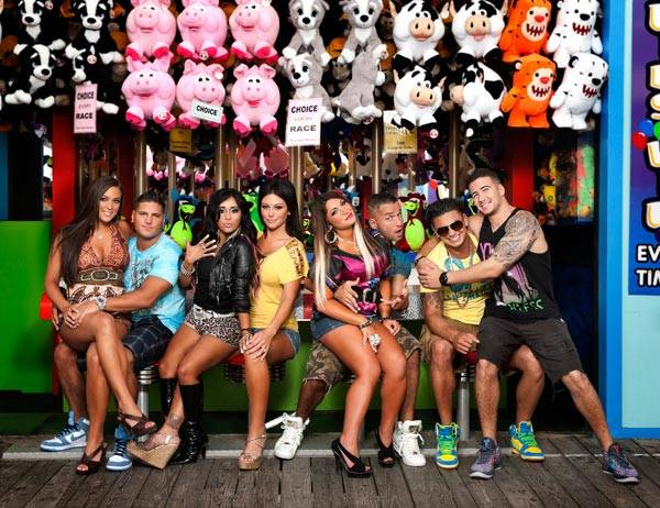 The cast of 'Jersey Shore'.