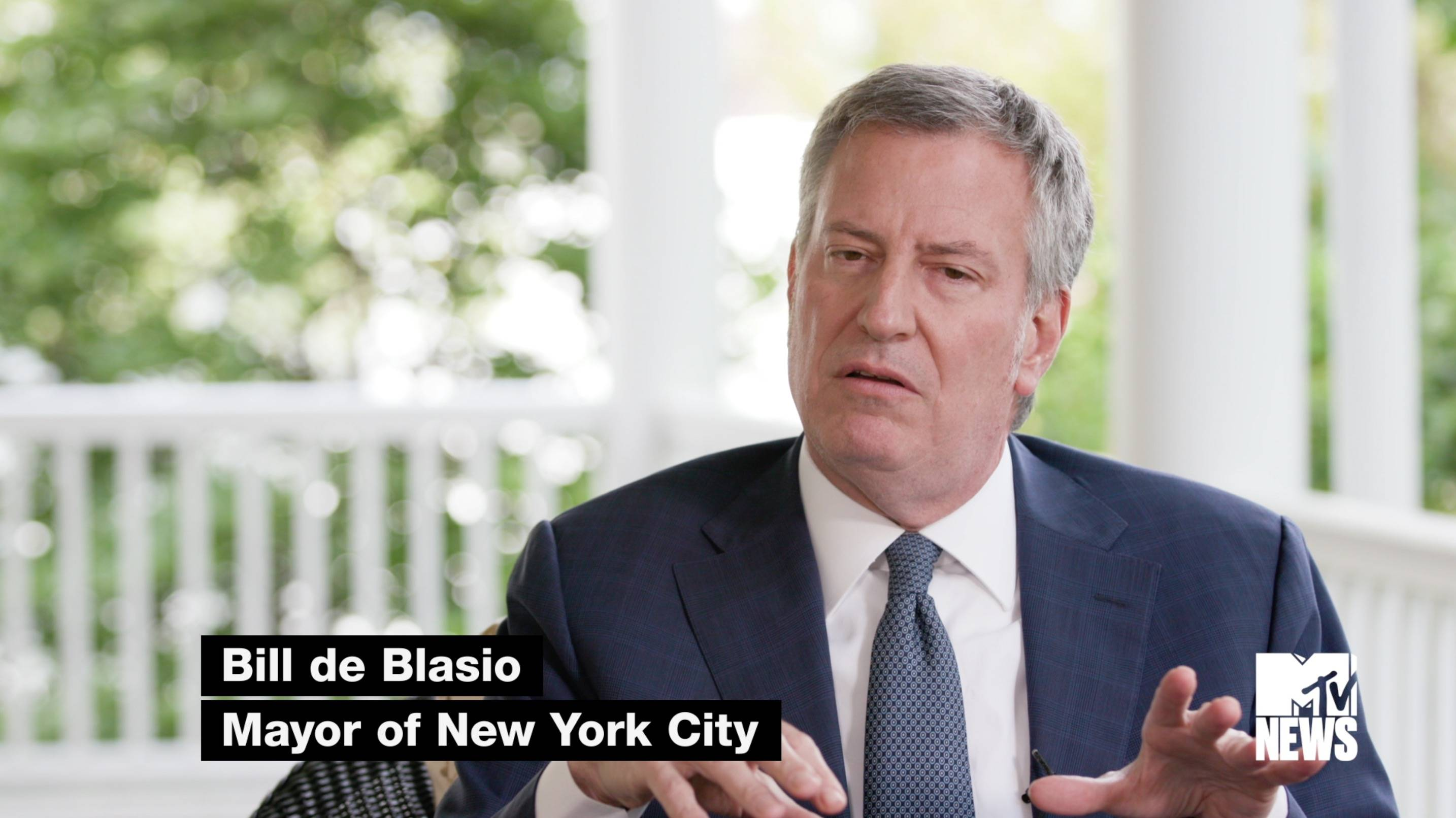 New York City Mayor de Blasio's Take On Music