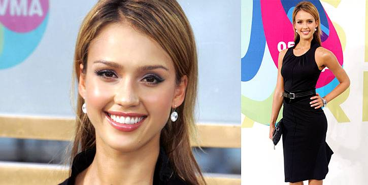 Classic! Jessica Alba proves that you can never go wrong with a little black dress at the 2005 VMAs. Or is it that you can never go wrong with Jessica Alba?