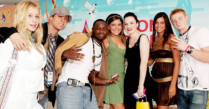 Where have you seen Melinda, Danny, Nehemiah, Rachel, Lacey, Johanna and Wes before? Hmm... 'Real World: Austin!' At the 2005 MTV Video Music Awards.