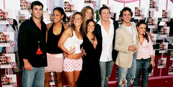 This hodgepodge of MTV alums includes Ace ('Real World: Paris'), Christena ('Road Rules: South Pacific'), Rachel ('Road Rules: Campus Crawl'), Mallory ('Real World: Paris'), Veronica ('Road Rules: Semester at Sea'), Mike the Miz ('Real World: Back To New Y