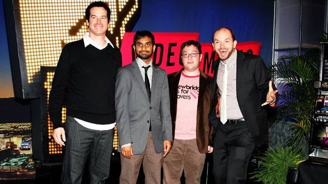 Is anybody funnier than 'Human Giant' stars Rob Huebel, Aziz Ansari, Jason Woliner and Paul Scheer? No. Not anybody at the 2007 MTV Video Music Awards.