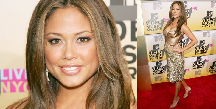 Vanessa Minnillo was Miss Teen USA long before hosting 'TRL.' It shows as she works the red carpet at the 2006 MTV Video Music Awards.