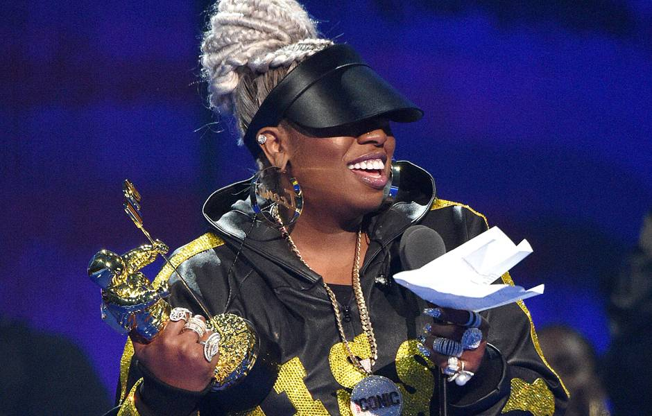 Video Vanguard Award winner Missy Elliott thanks her fans and supporters.