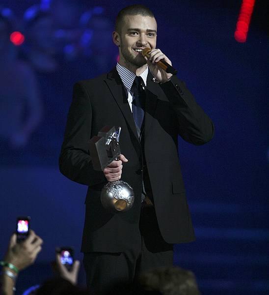 EMA 2006 | Past Hosts Justin Timberlake | 548x600