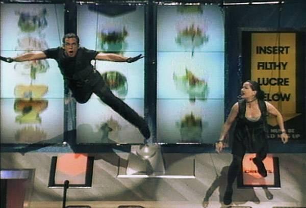 Movie & TV Awards 1996 | Host Ben Stiller & Janeane Garofalo | 600x400