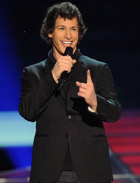 Movie & TV Awards 2009 | Host Andy Samberg | 450x600