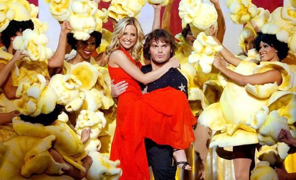 Movie & TV Awards 2002 | Best Duos Sarah Michelle Gellar/Jack Black | 600x365