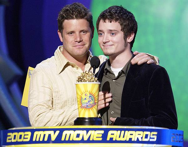 Movie & TV Awards 2003 | Best Duos Sean Astin/Elijah Wood | 600x469